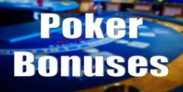 Poker Bonuses For New Players